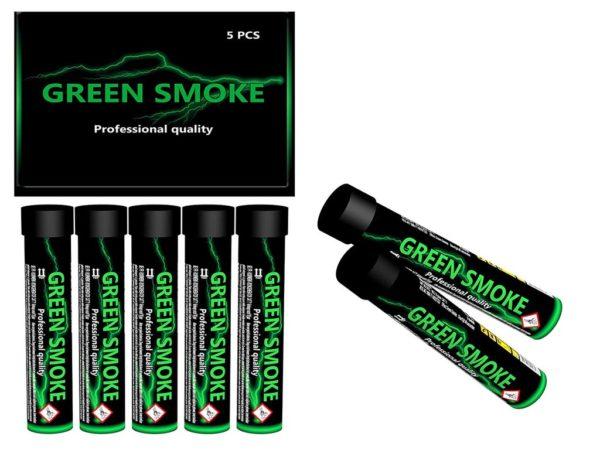 Smoke Tube Green 5 stuks