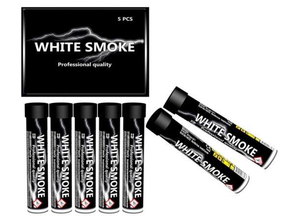 Smoke Tube White  5 stuks