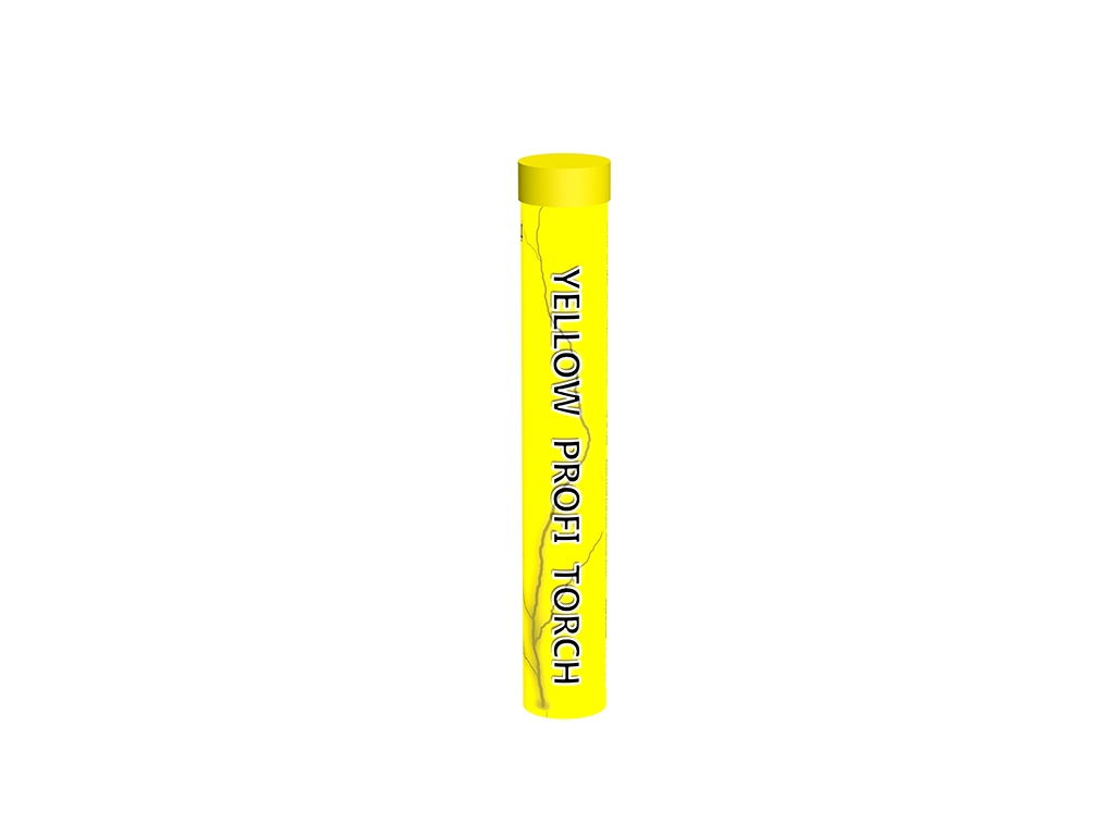 Yellow Profi Torch