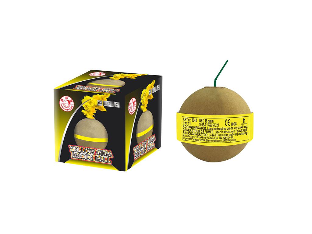 Yellow Giga Smoke Ball