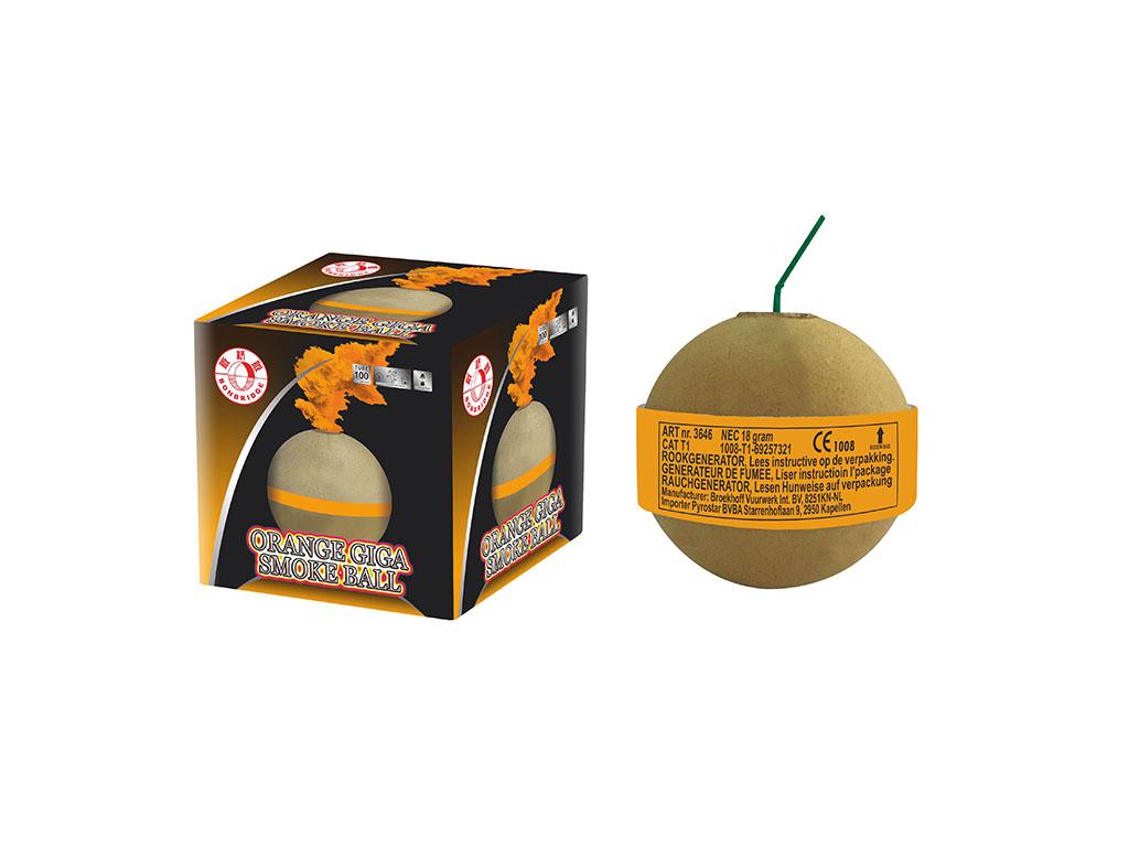 Orange Giga Smoke Ball