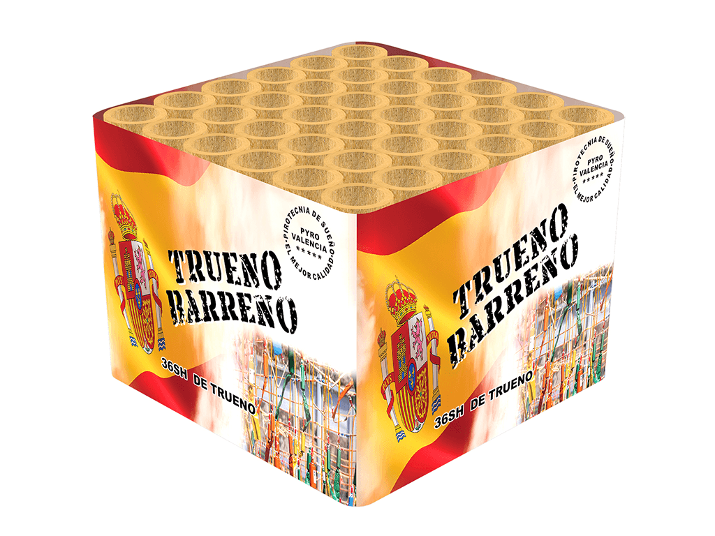 Trueno Barreno 36 shots