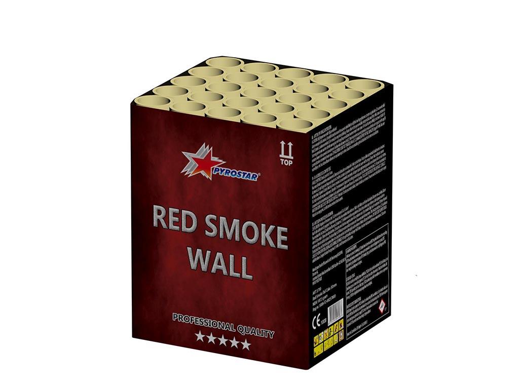 Red Smoke Wall