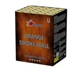 Orange Smoke Wall