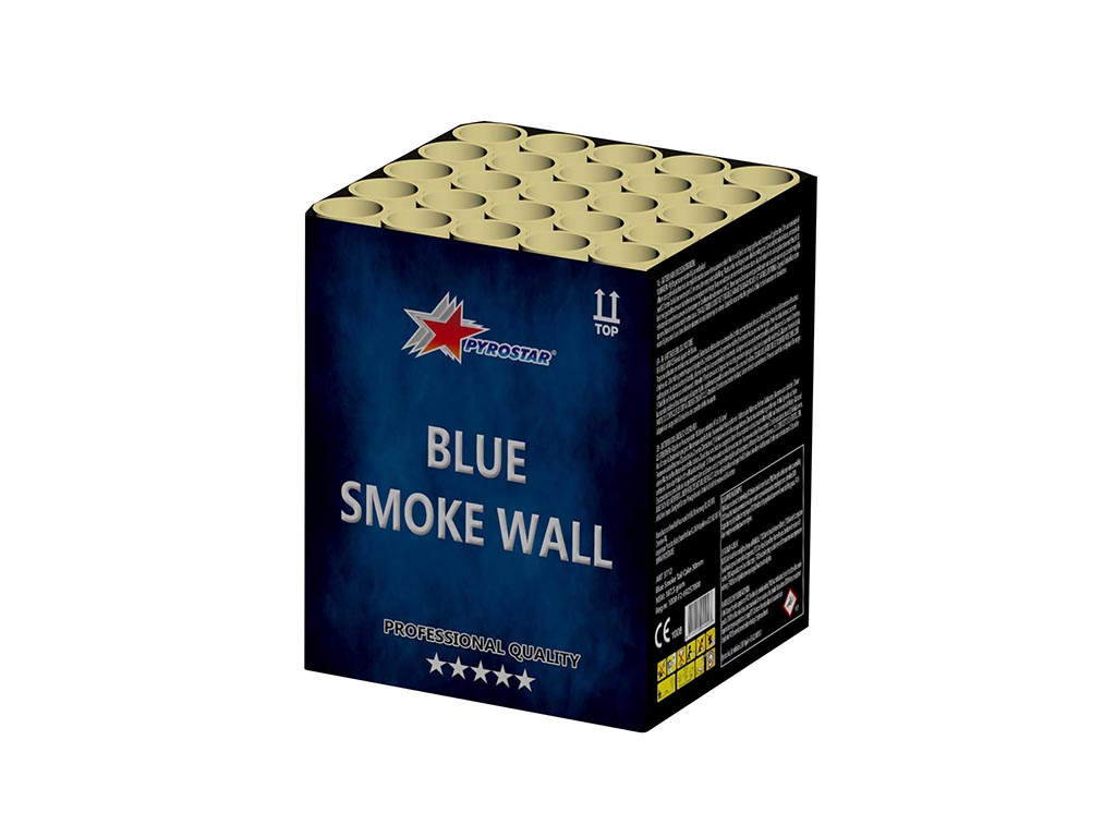 Blue Smoke Wall