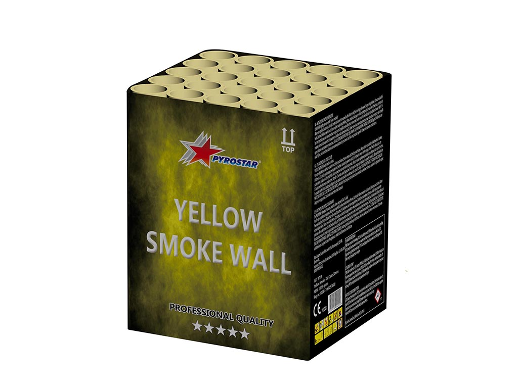 Yellow Smoke Wall