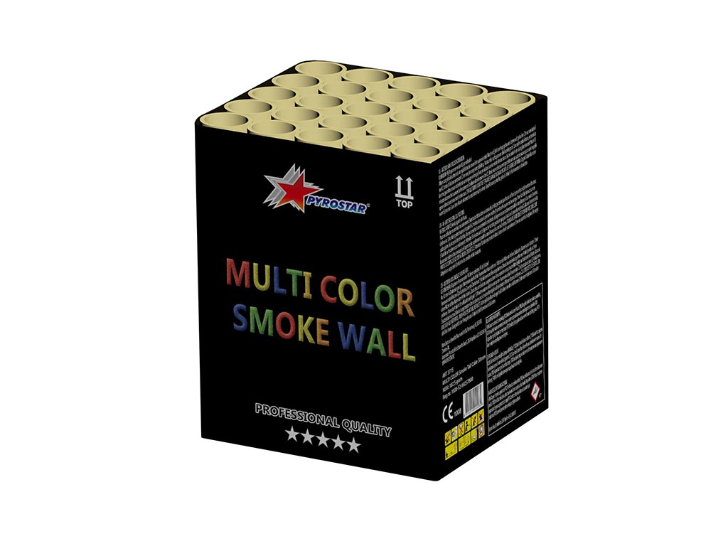 Multi Color Smoke Wall