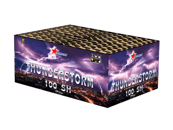 Thunderstorm 100 shots